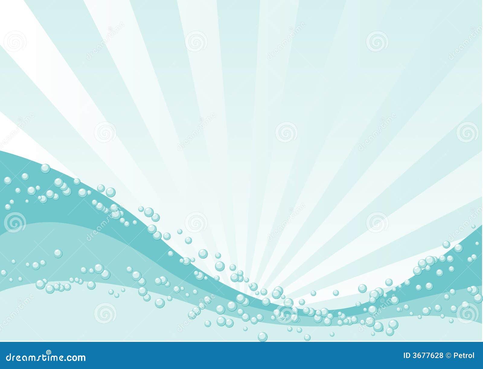 Download Oceano illustrazione vettoriale. Illustrazione di cielo - 3677628