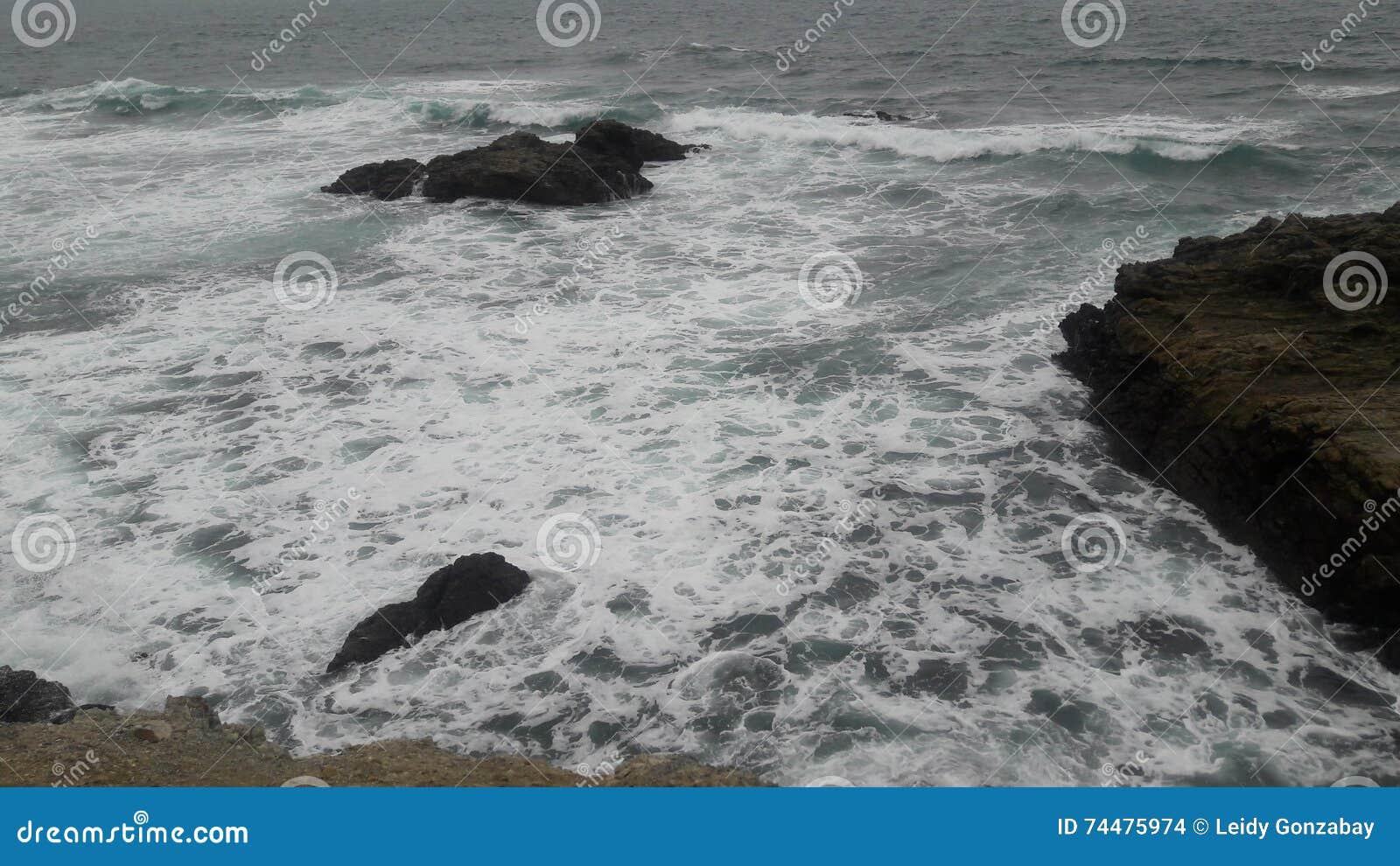 Oceano Pacifico dall Ecuador