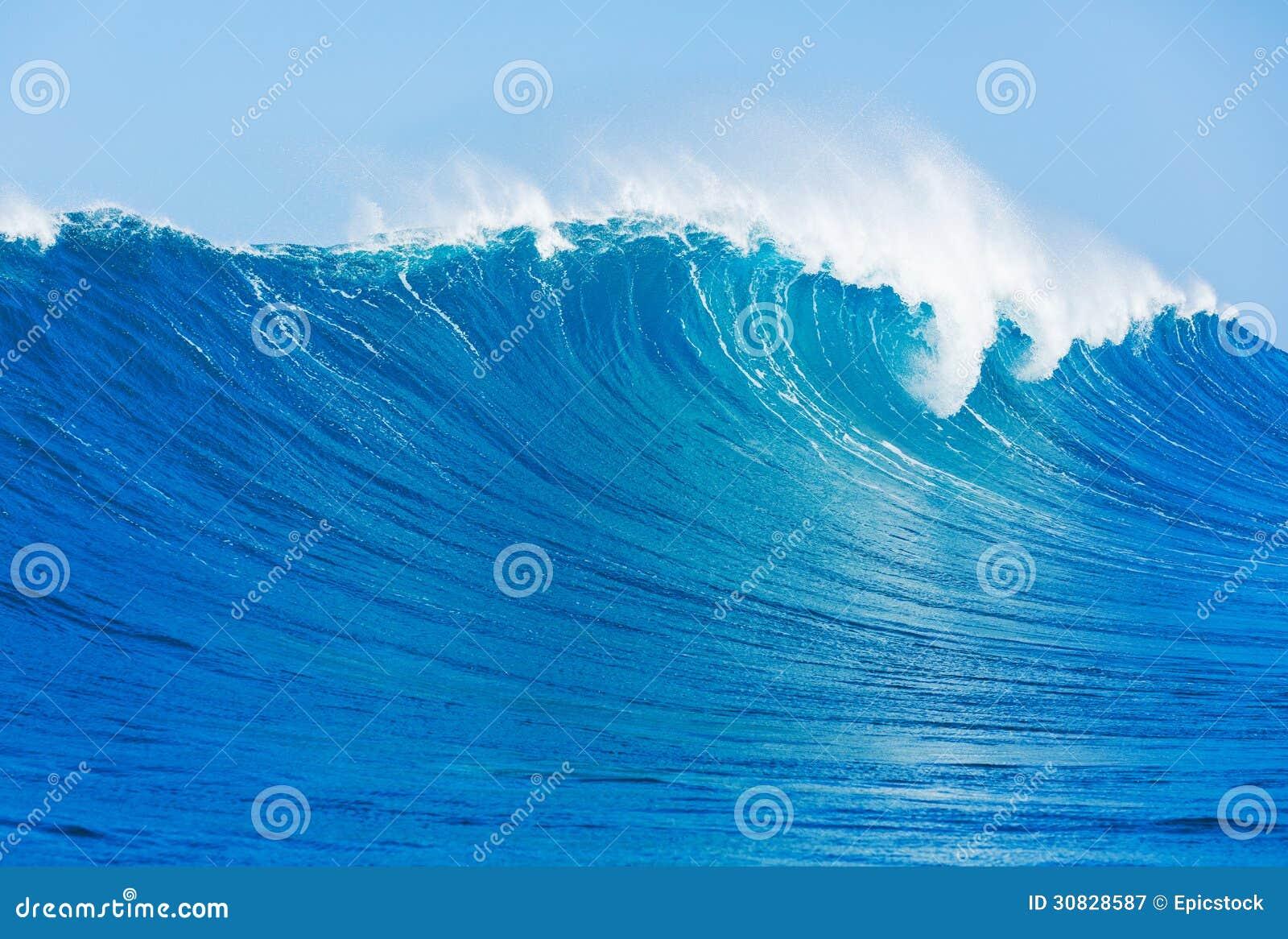 Oceano Wave blu