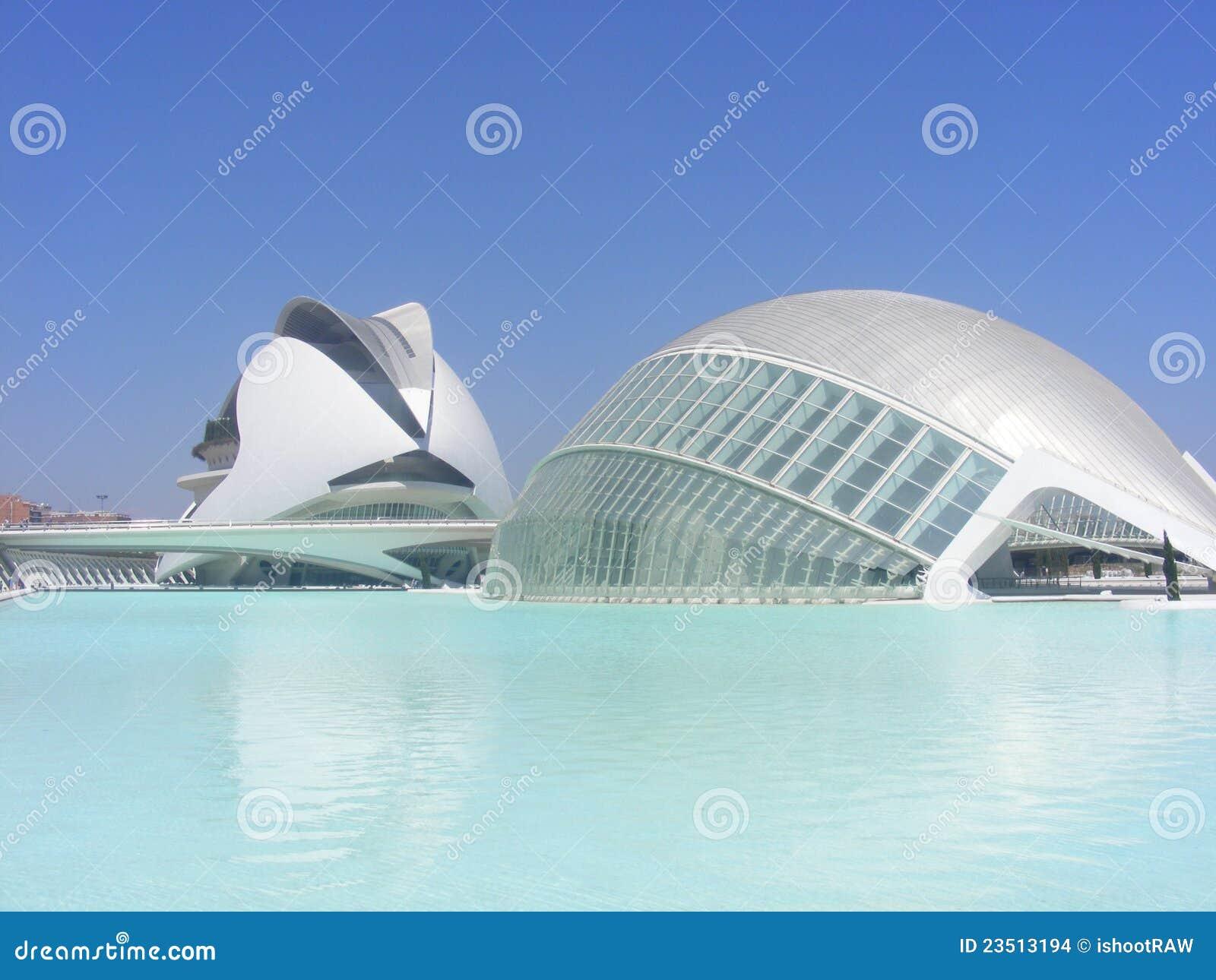Oceanografico Valencia Editorial Stock Image Image 23513194