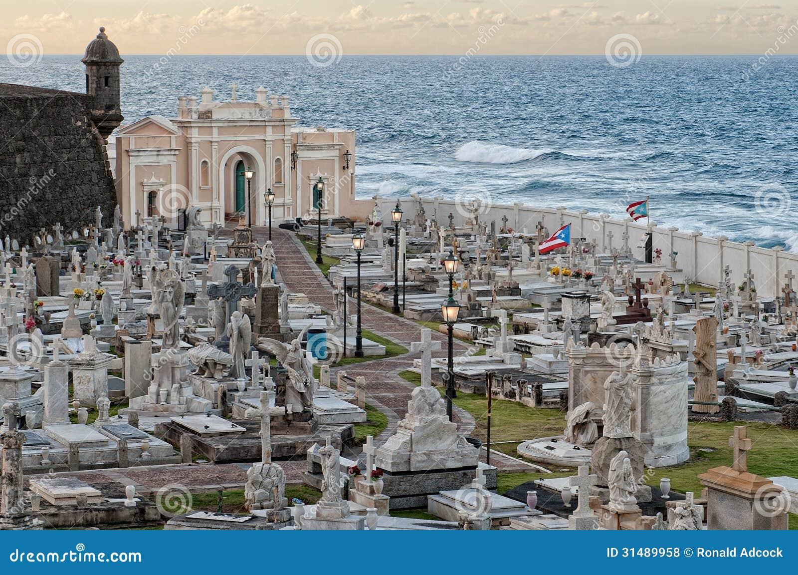 Cemetery in Puerto Rico .. San Juan 18