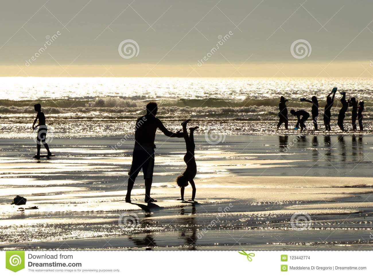 Playful Silhouettes at sunset_3