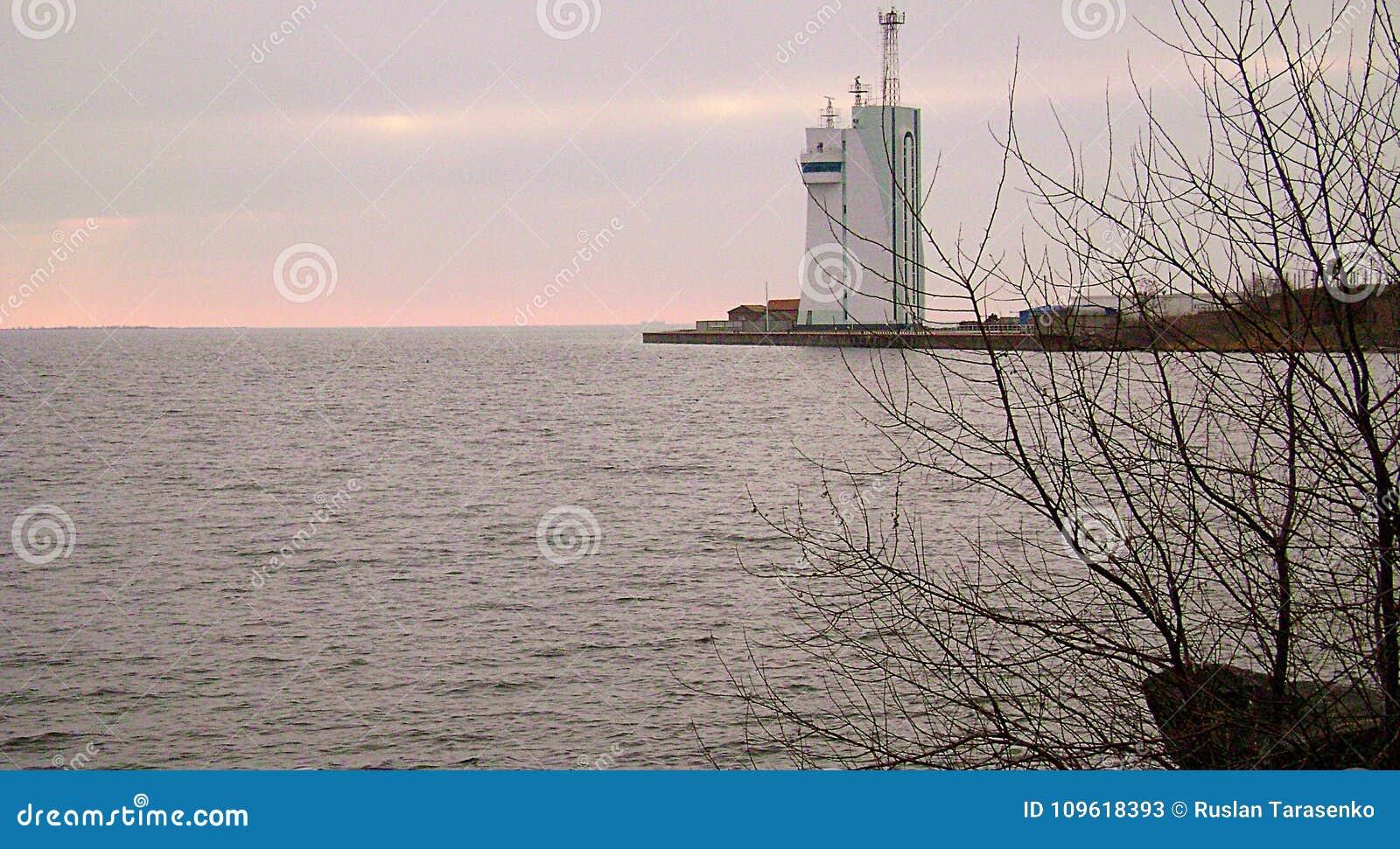 Ochacov Zimy Czarny morze Budynek loci usługa Zatoka Dnipro pluskwy ujście