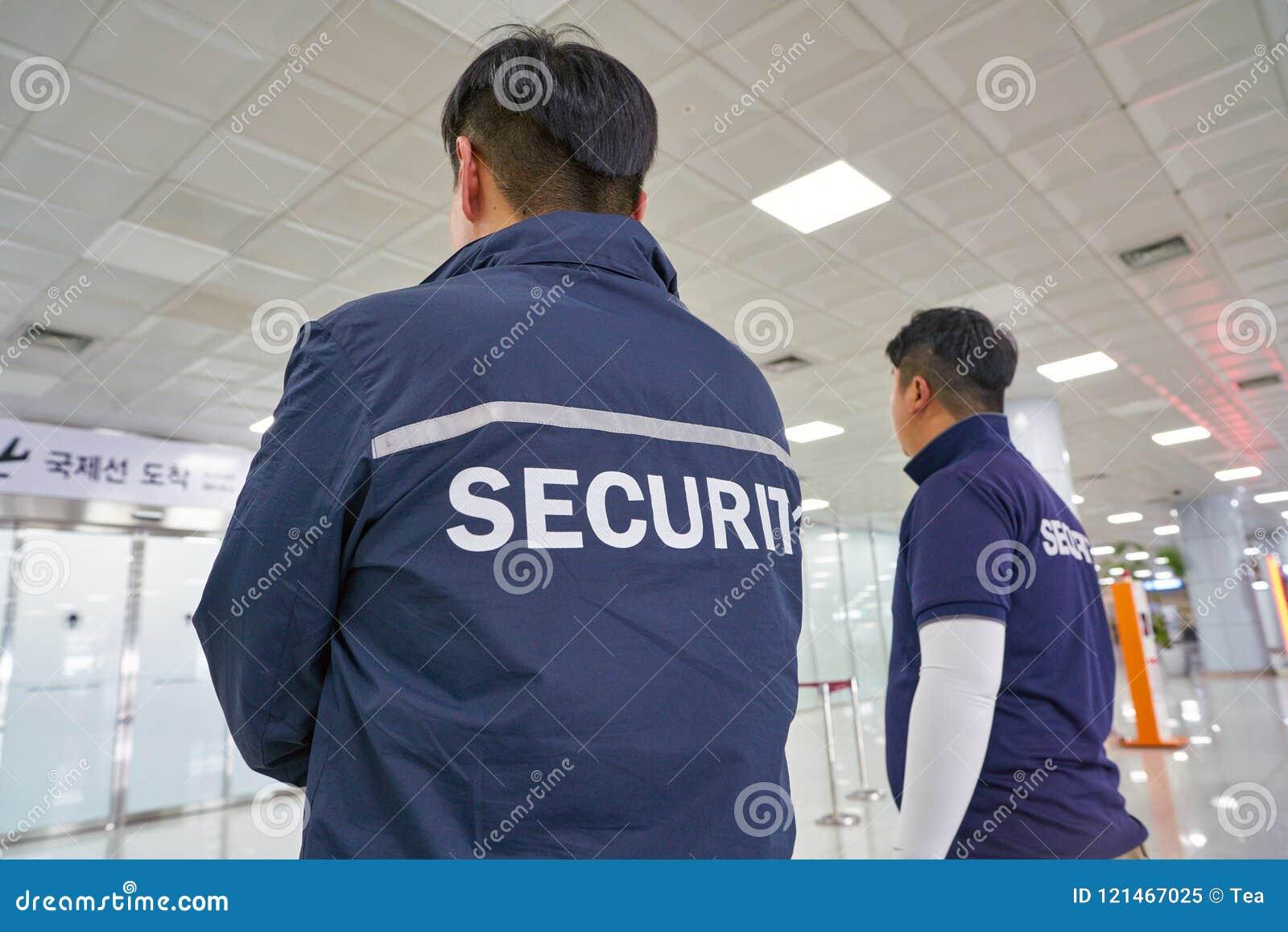 Ochrona lotniska personel