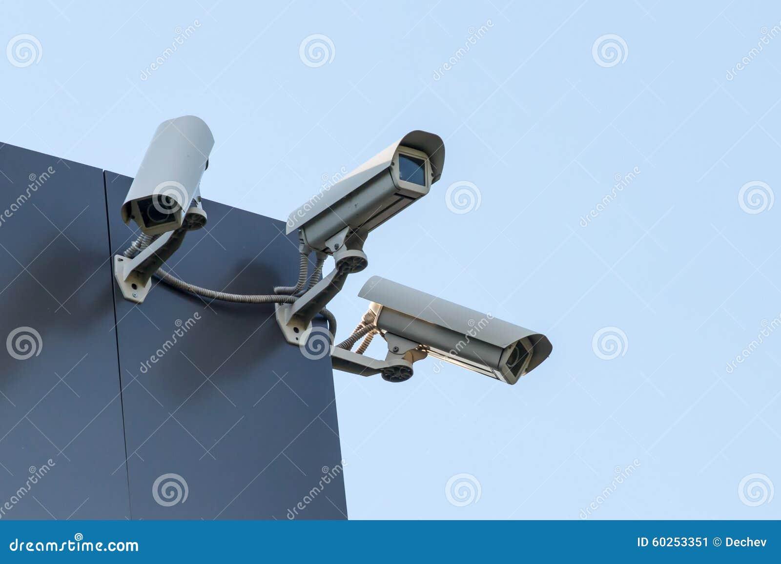 Ochrony cctv kamery