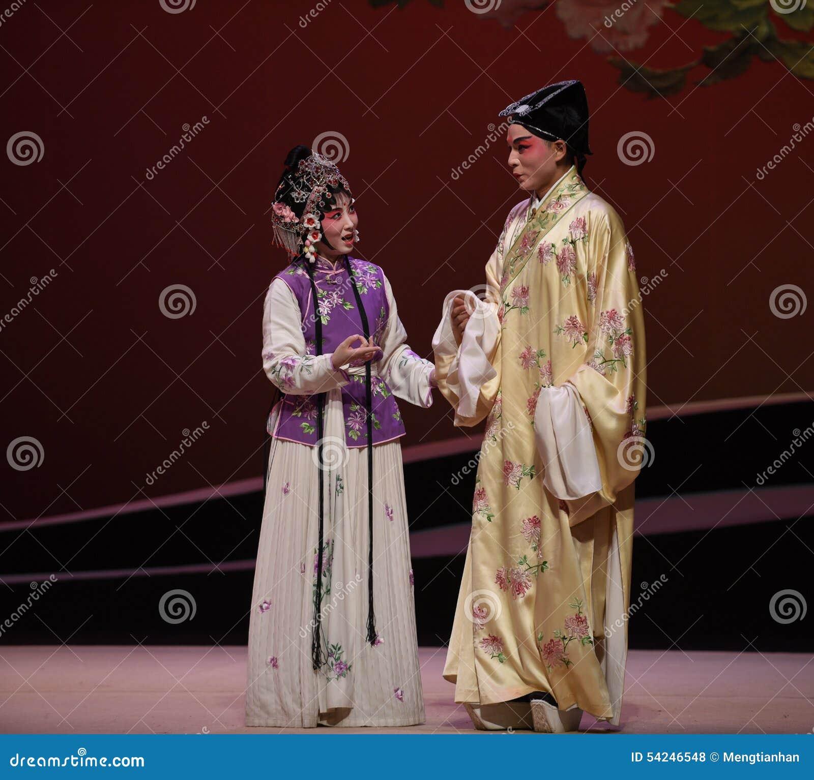 """ ocidental de Chamber†do """"the de Opera do mestre e do empregado-Kunqu"""