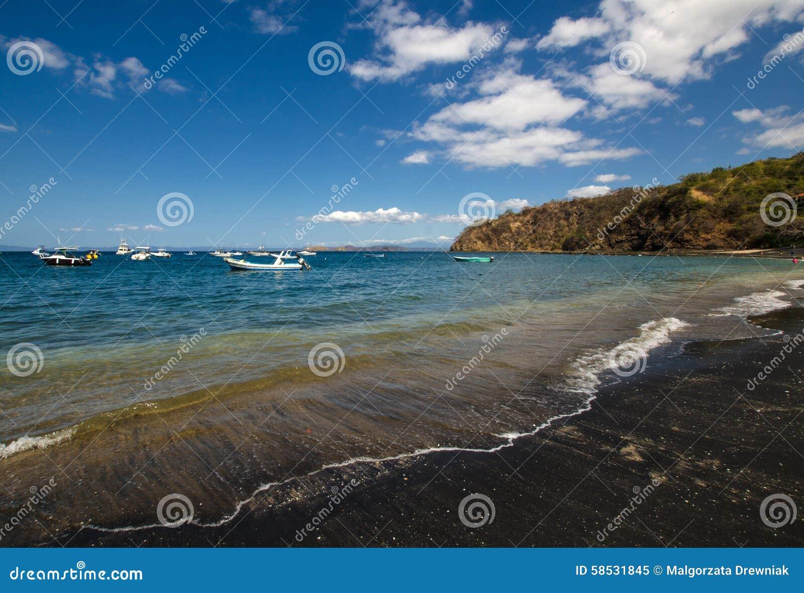 Ocotal plaża w Guanacaste, Costa Rica -