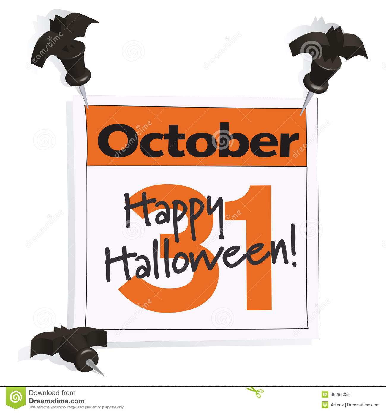 october 31st halloween clip art - Why Is Halloween On The 31st Of October