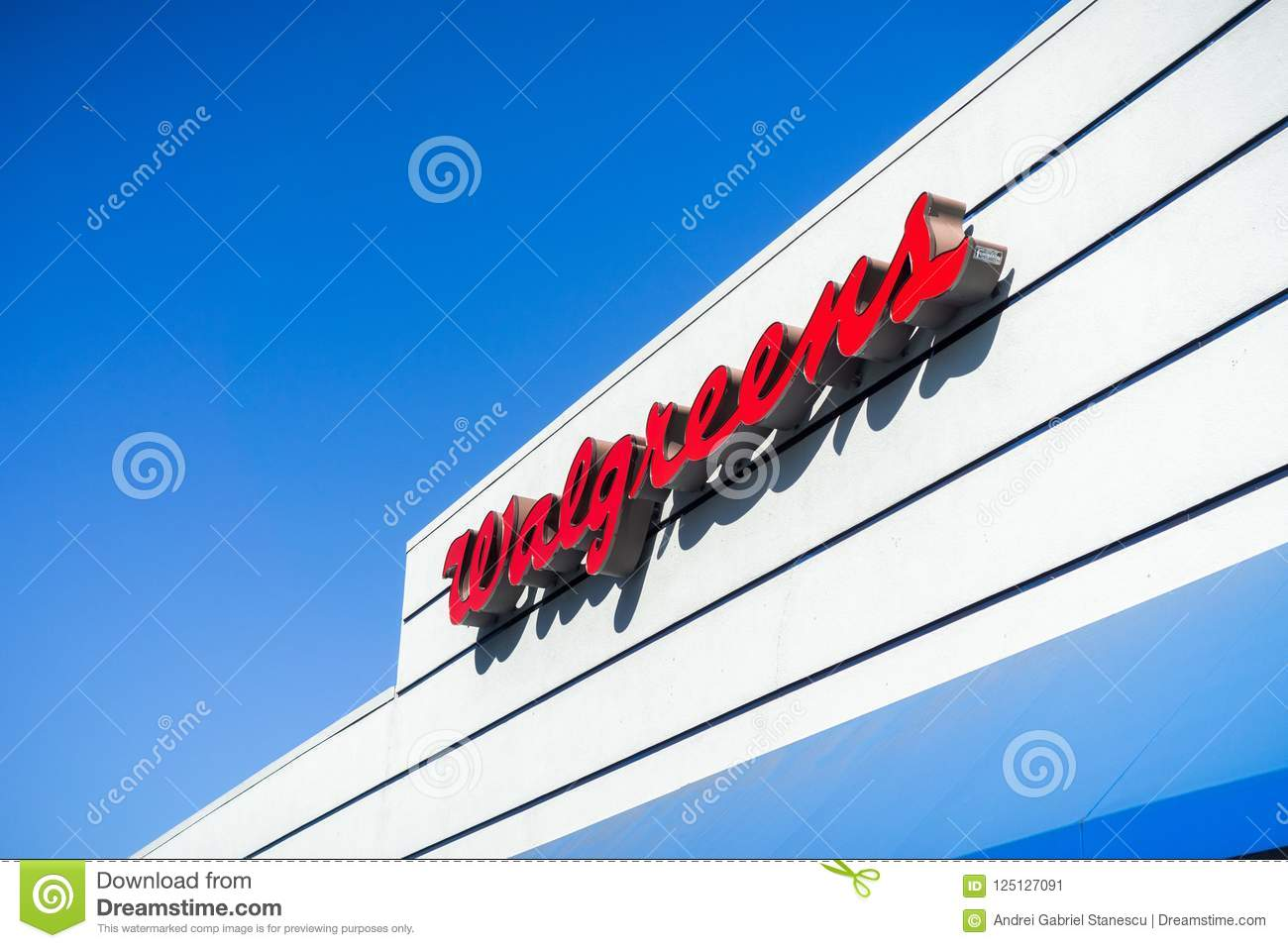 Walgreens Logo Editorial Photo Image Of Front Industry 125127091