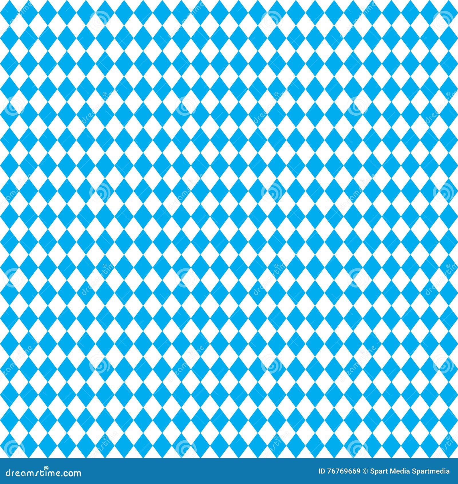 Download Oktoberfest blue pattern stock vector. Illustration of beerhouse - 76769669
