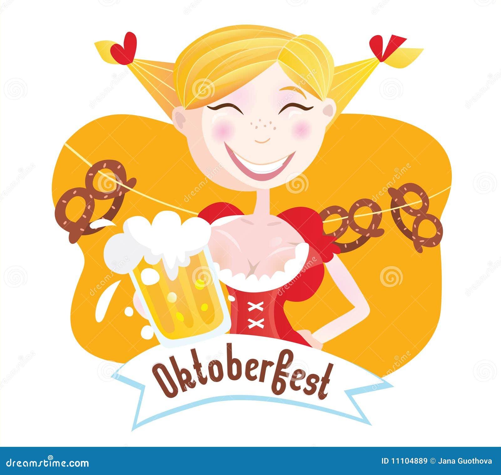 Octoberfest (mujer bávara)