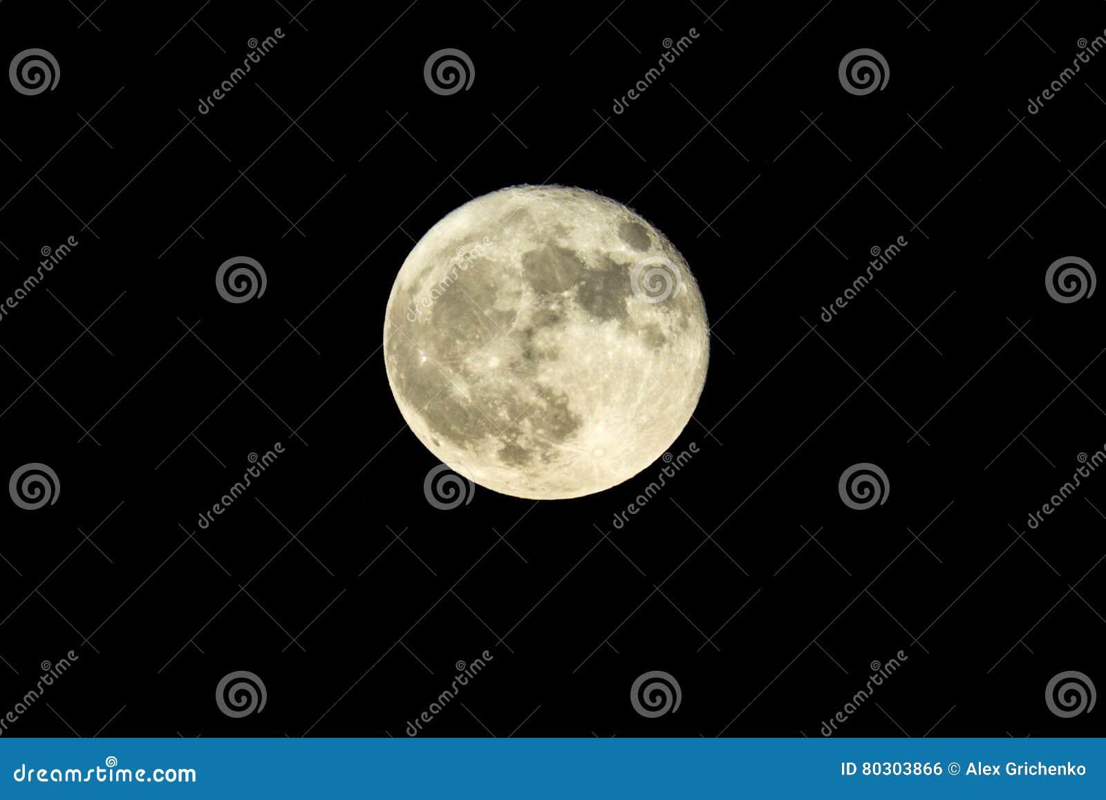 Octobre 2016 pleine lune de récolte