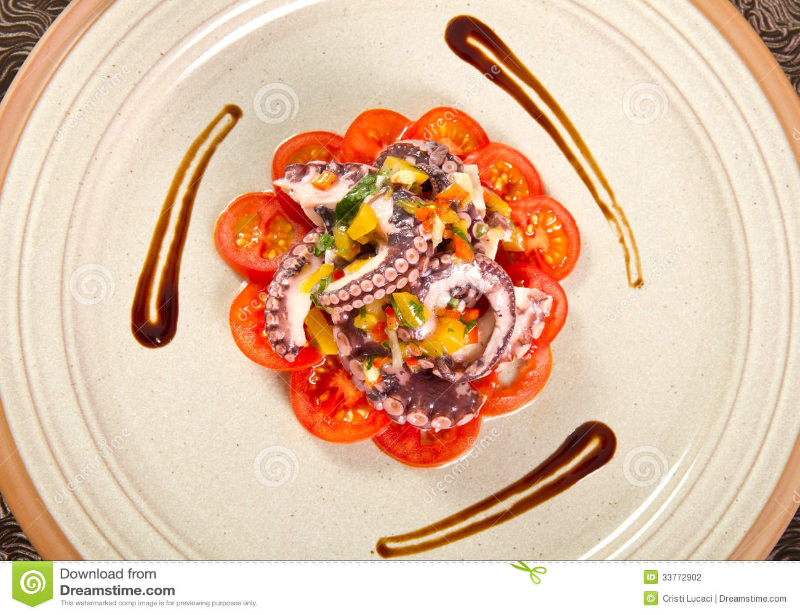 Octopussalade