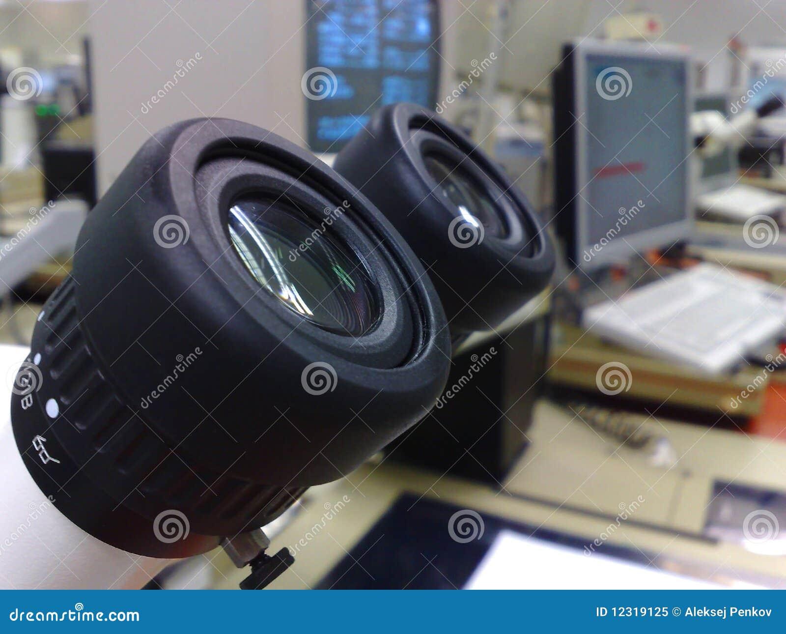 Ocular de Stereomicroscope