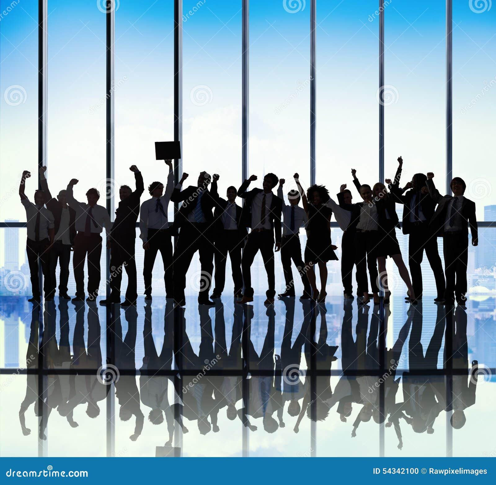 Ocupação de Team Teamwork Togetherness Business Coworker do sucesso