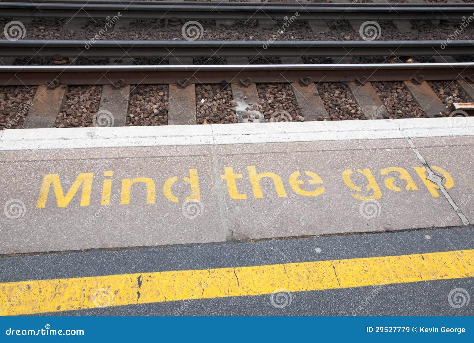 Ocupe-se do sinal de Gap