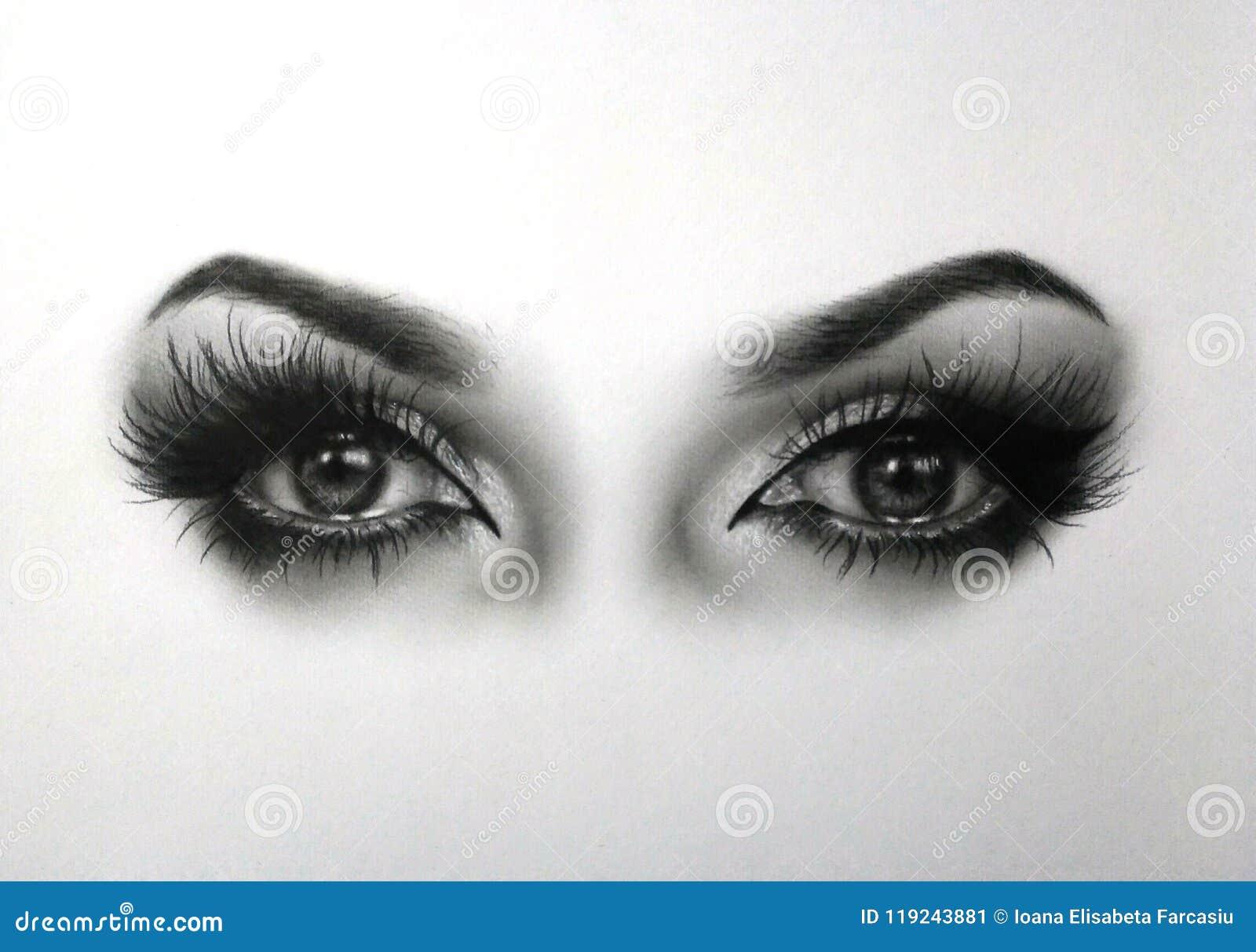Oczu rysować