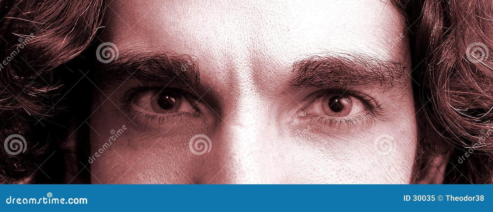 Download Oczy obraz stock. Obraz złożonej z eyeball, uczeń, makeup - 30035