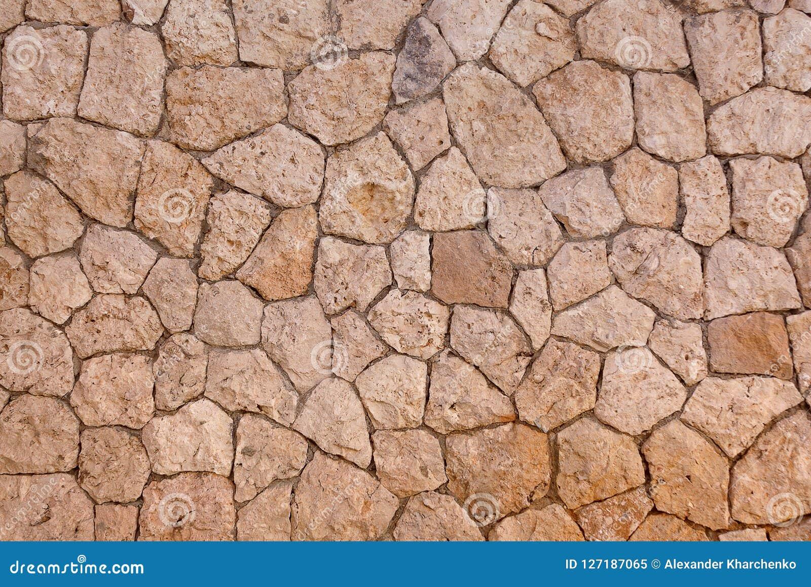 Odłupany kamiennej ściany tło