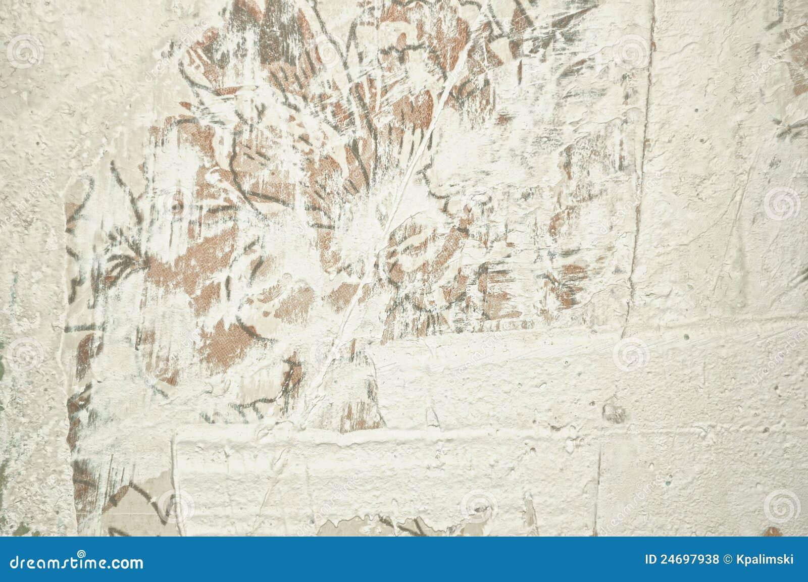 Odświeżania stiuku ściany biel