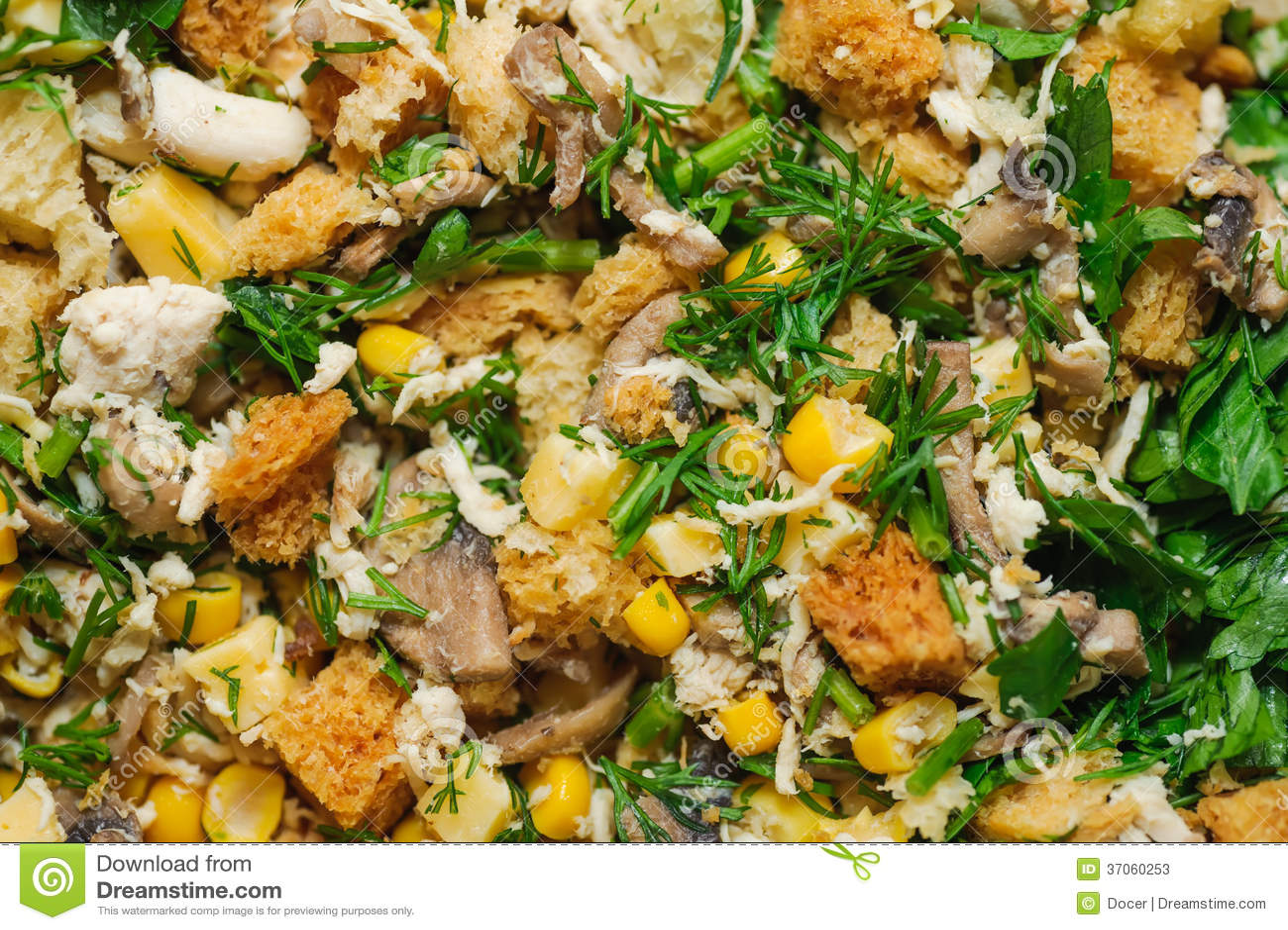 Odżywek mieszani sałatkowi tła