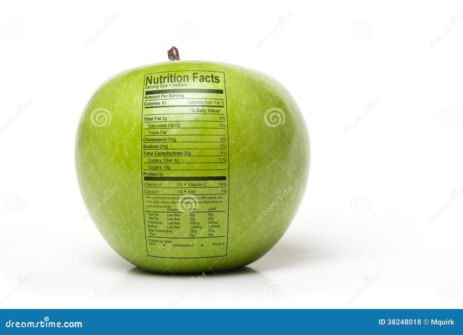 Odżywiania jabłko