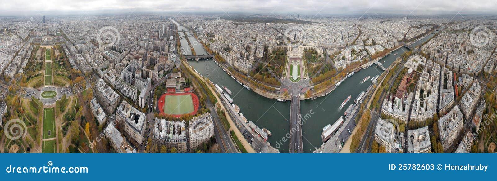 Od Eifel Wierza paryska panorama