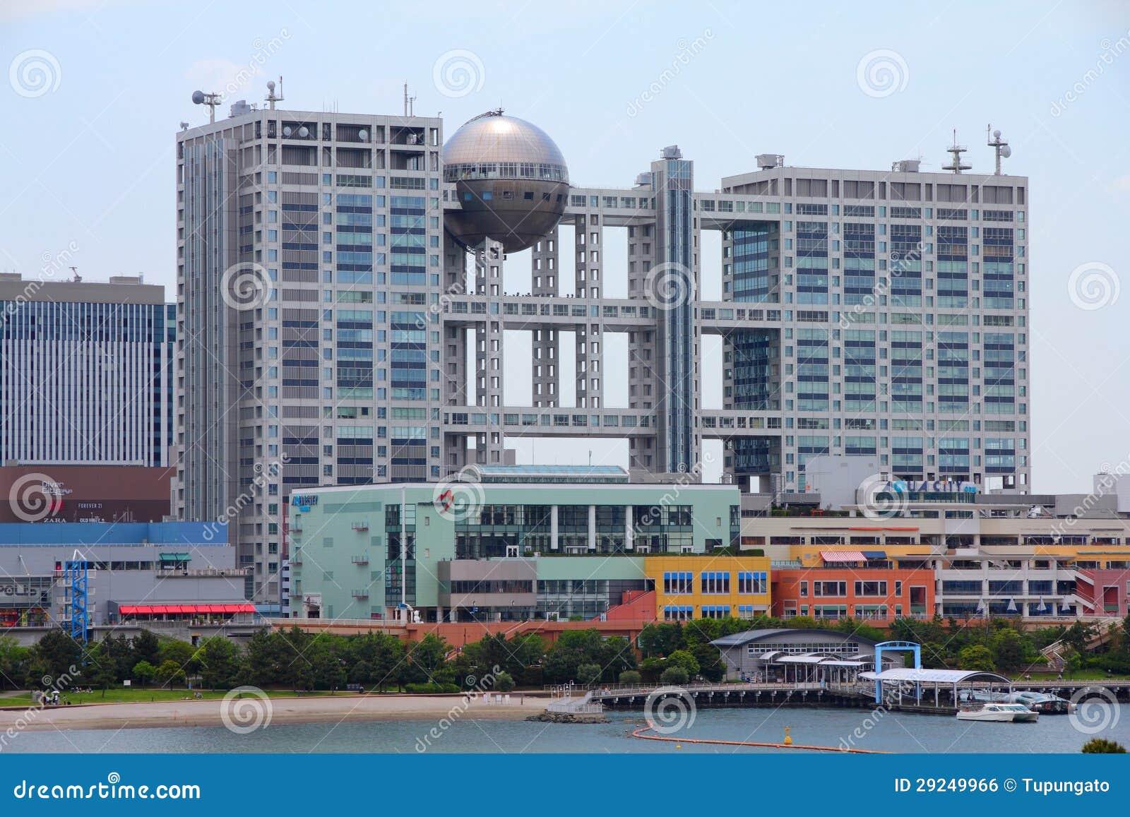 Download Odaiba, Tokyo foto editorial. Imagem de moderno, exterior - 29249966