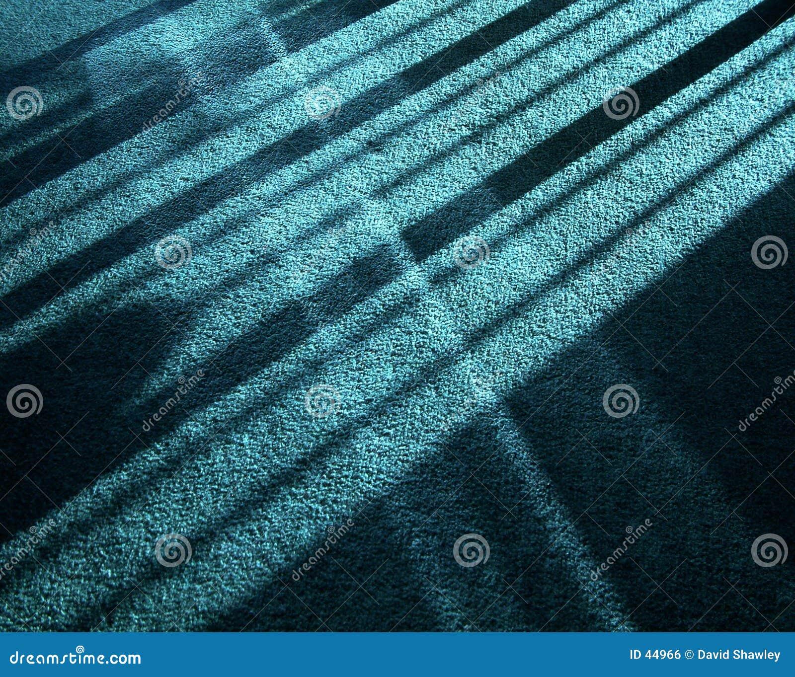 Odbicie światła słonecznego cieni