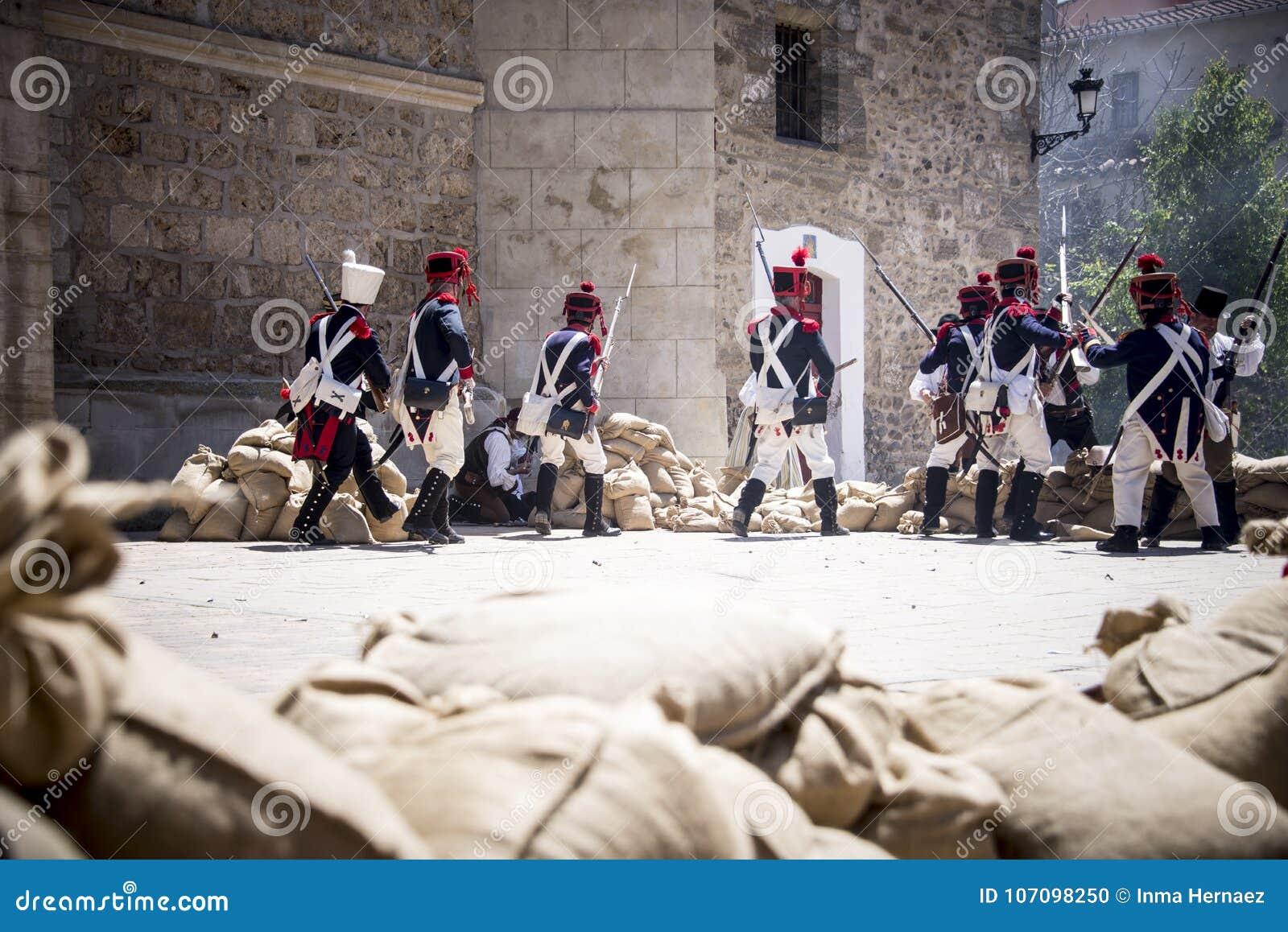 Odbudowa Napoleoński wojsko Wojsko na polu bitwy, Napoleoński oddział wojskowy