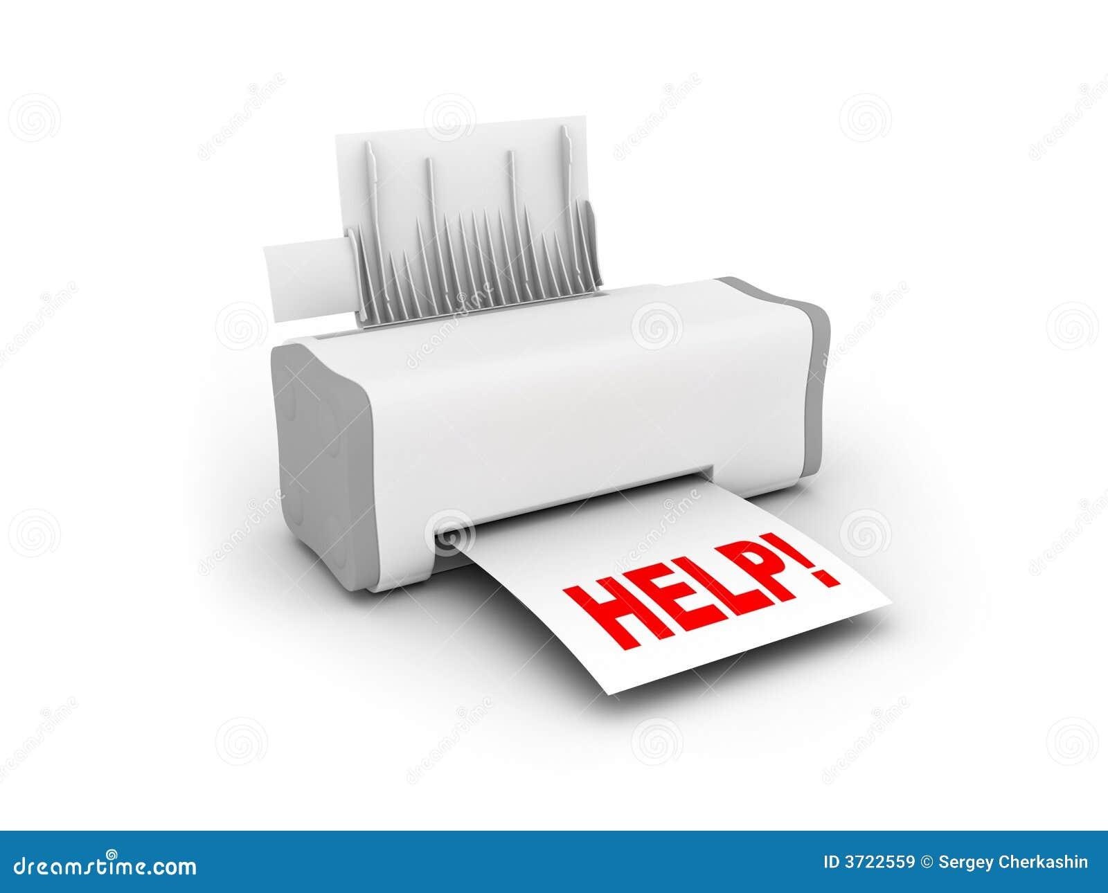 Odcisk pomocy