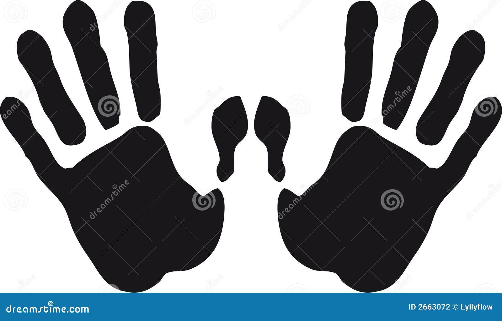 Odcisk ręki
