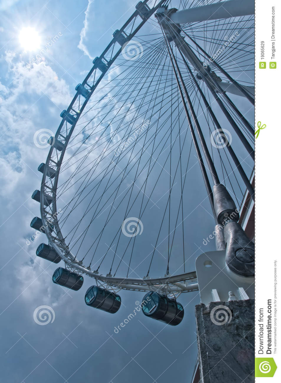 Ode to the Singapore Flyer