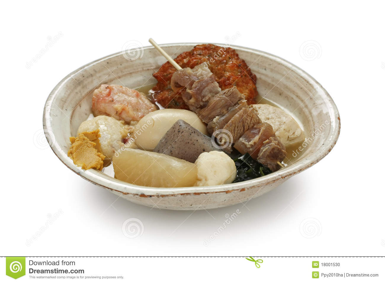 Oden , Japanese Food Stock Photo - Image: 18001530
