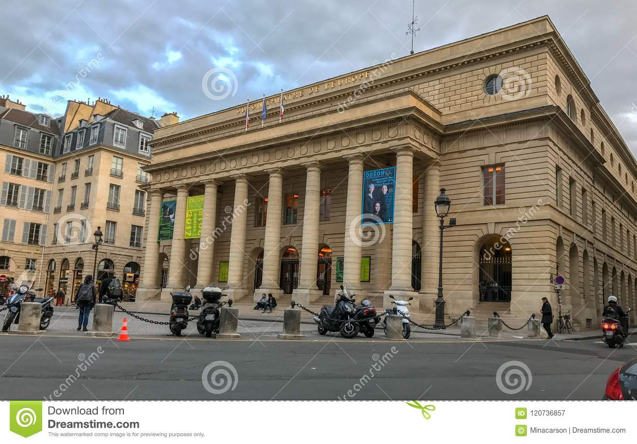 Odeon-Theater, Paris, Frankreich