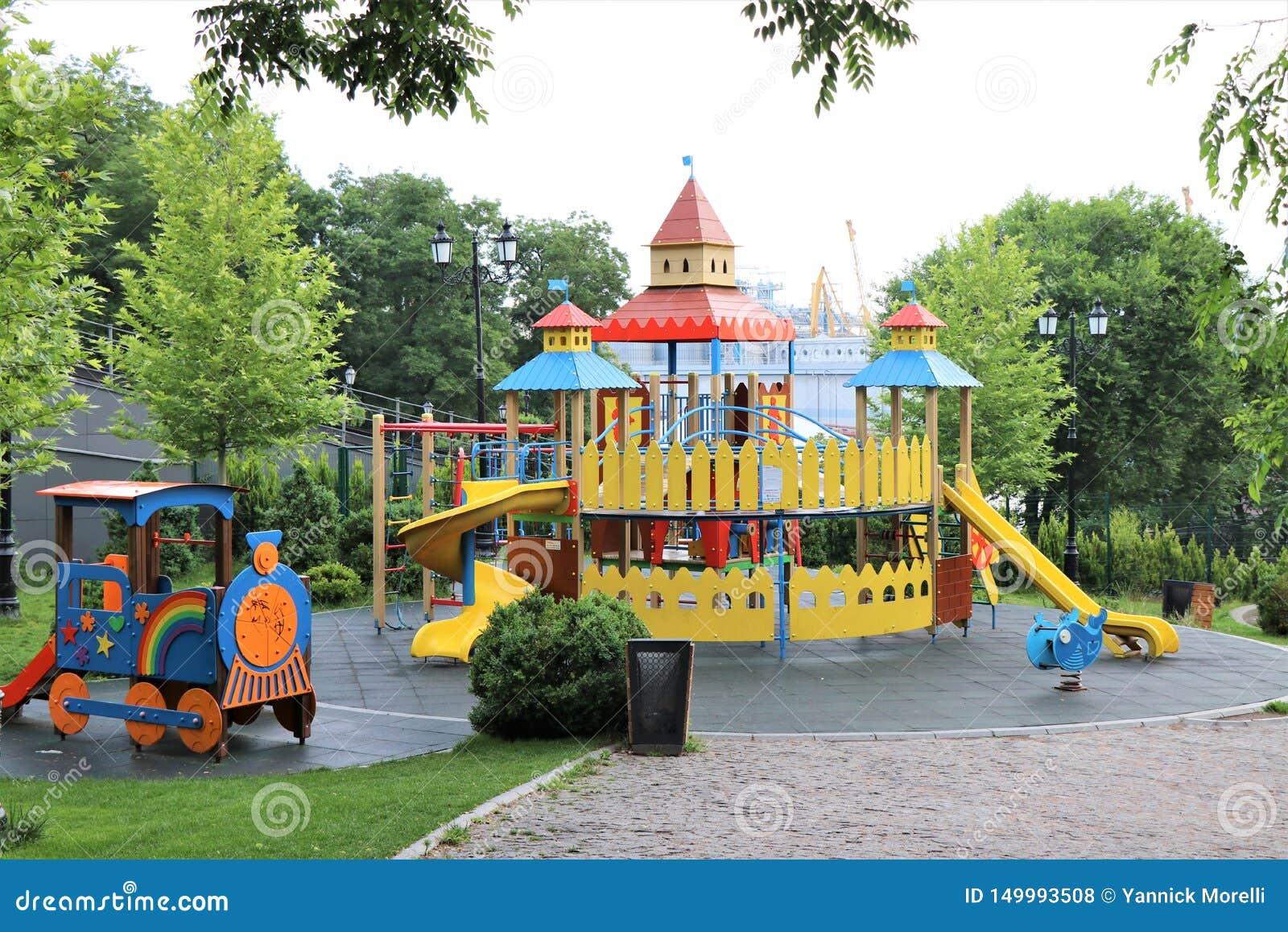 Odessa, Ukraina Spojrzenie Istanbuł park