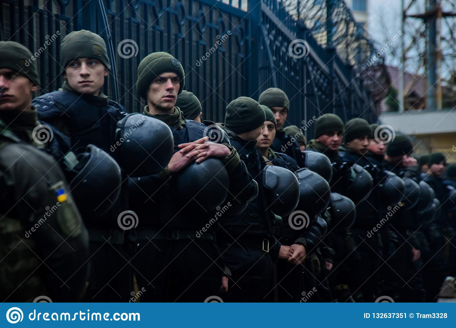 Protests of Ukrainian patriots near General Consulate of Russian Federation in Odessa against aggression of Russia