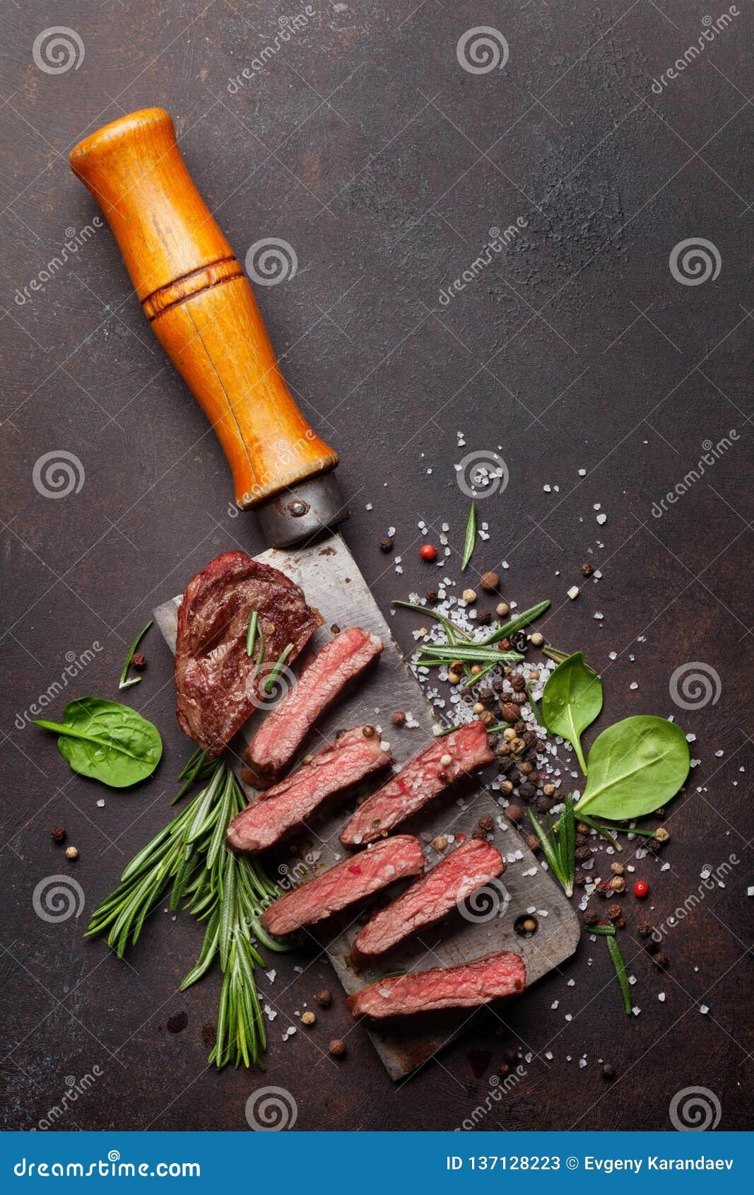 Odgórny ostrze lub Denver stek