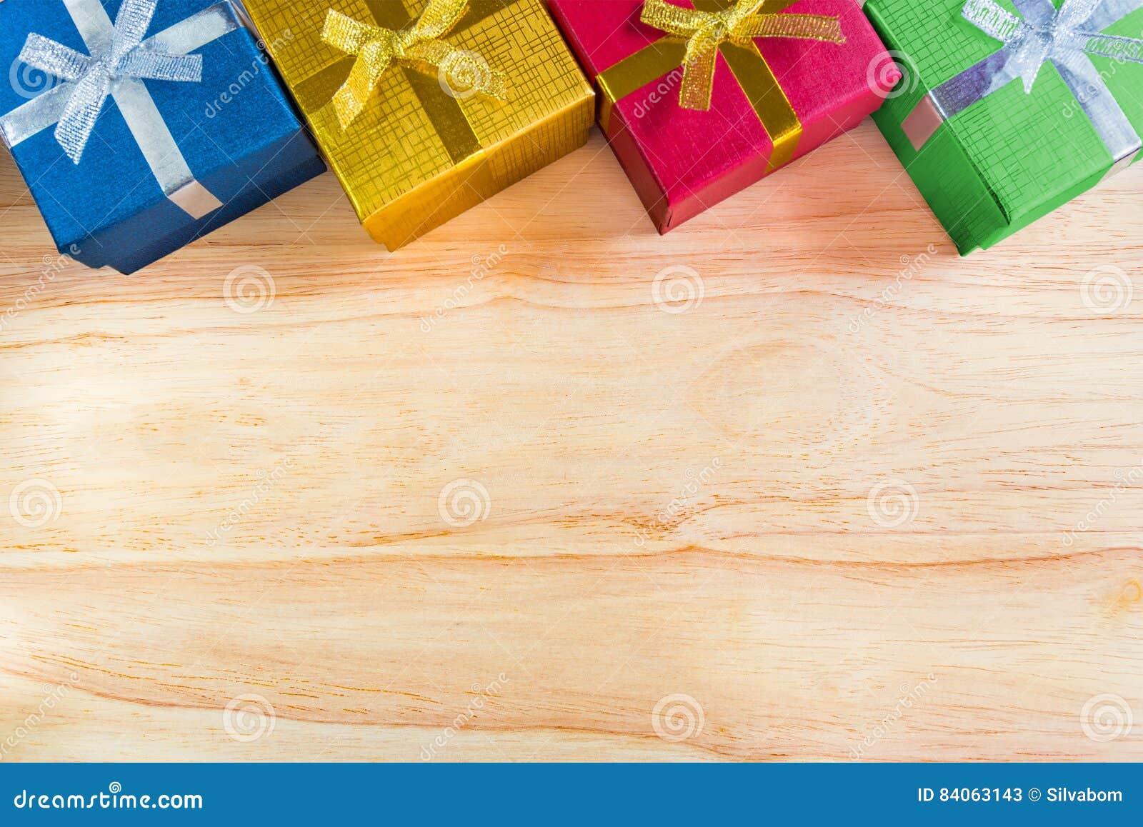 Odgórny widok lub mieszkanie nieatutowi różnorodnego koloru christmas&happy nowy rok g