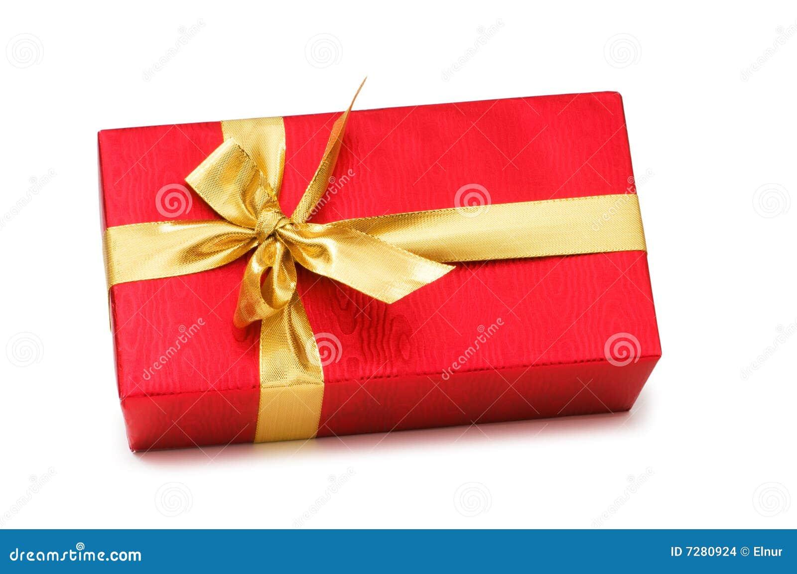 Odizolowywający pudełkowaty prezent