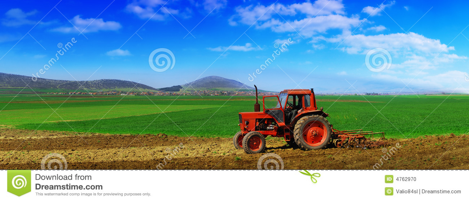 Odla traktoren