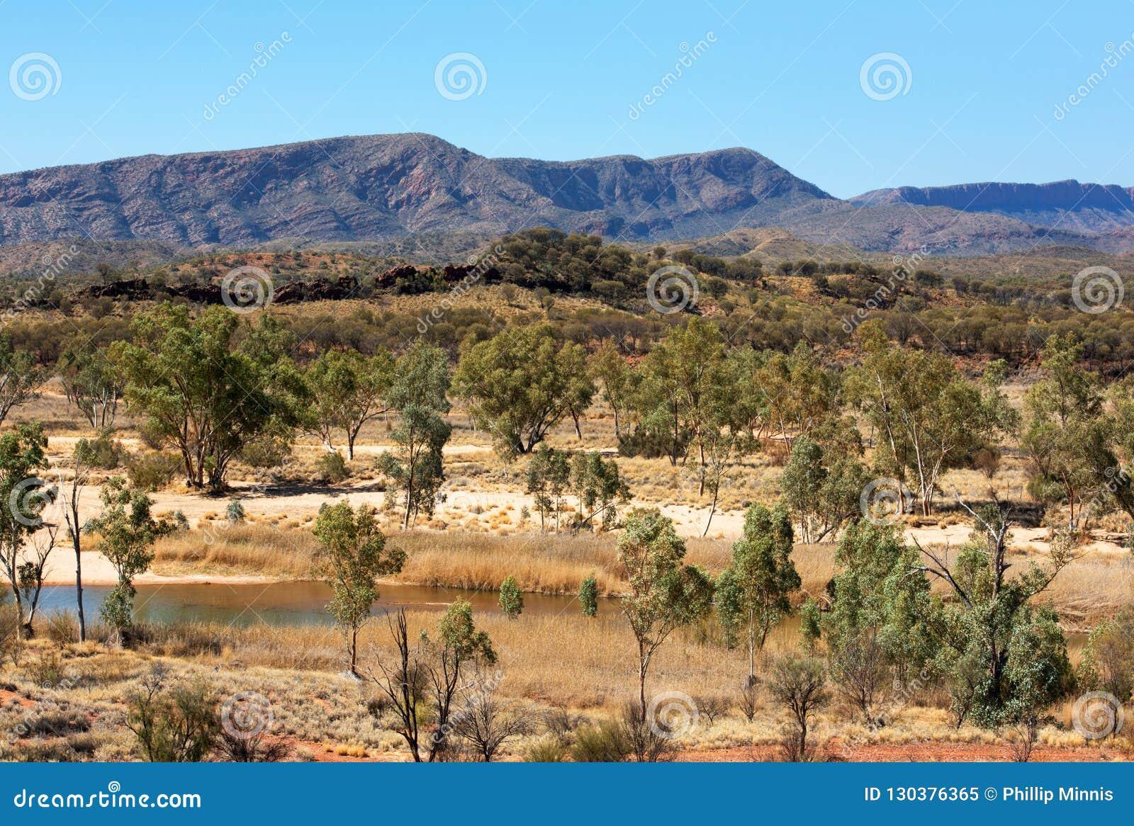 Odludzie scena, terytorium północne, Australia