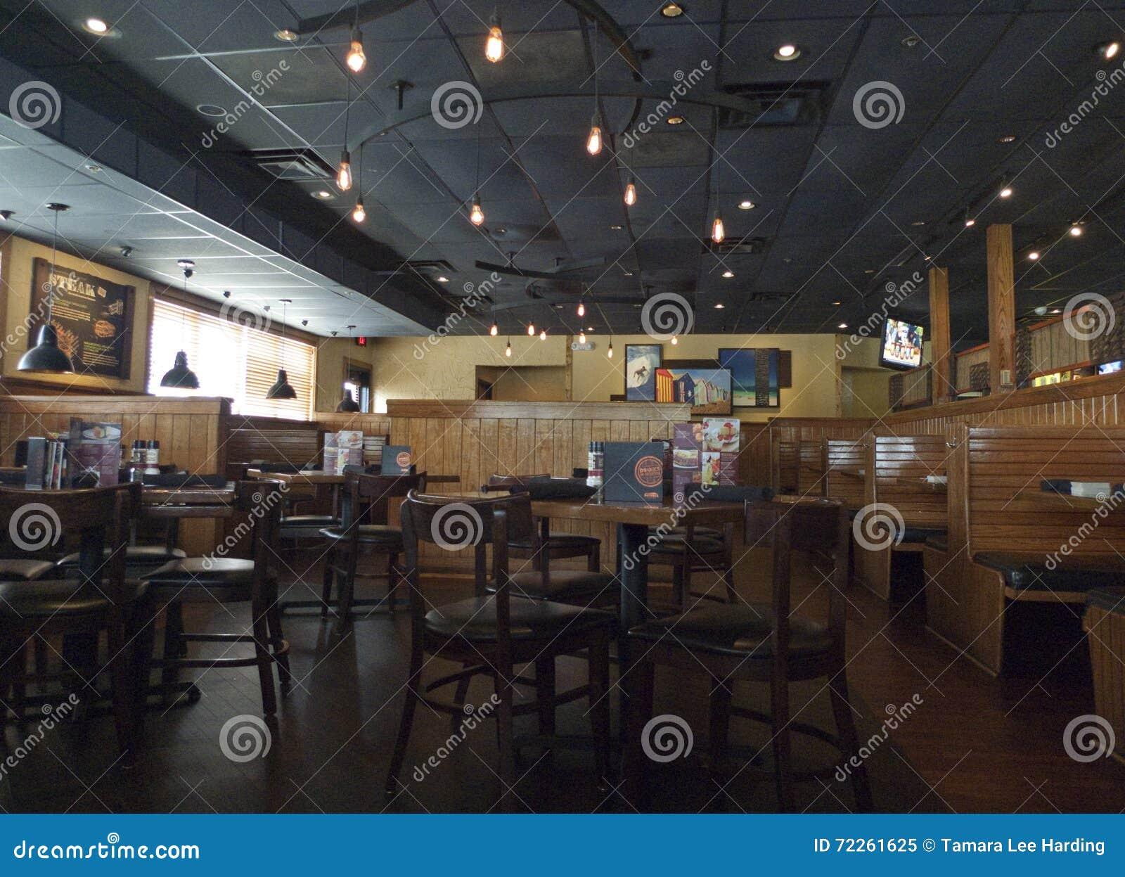 Odludzie steakhouse wnętrze, fort Smith, AR