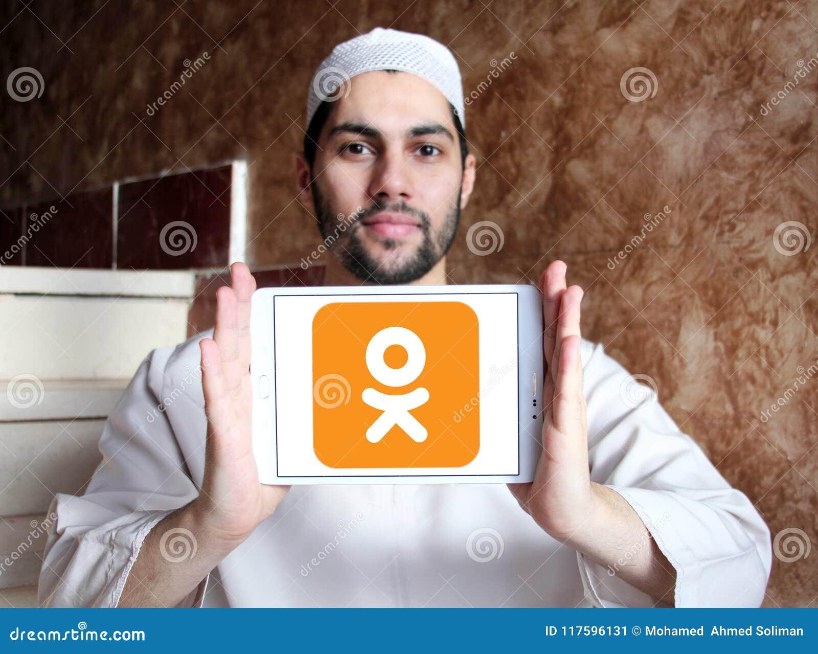 Odnoklassniki , OK ru , Social Network Logo Editorial Photo