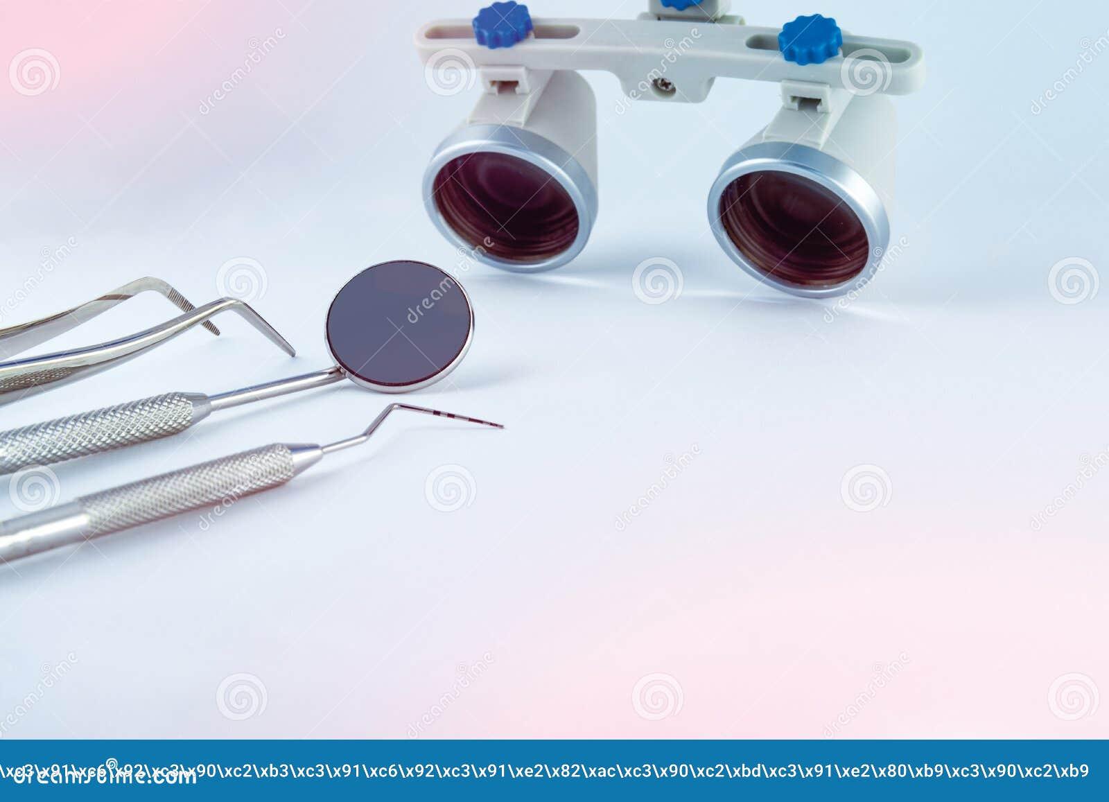 Odontologia binocular das lupas Aplicação do sistema ótico no treatme