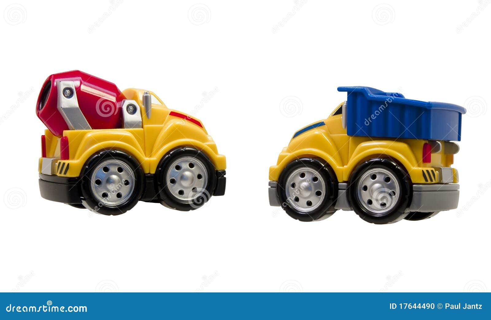 Odosobniona zabawka przewozić samochodem biel dwa