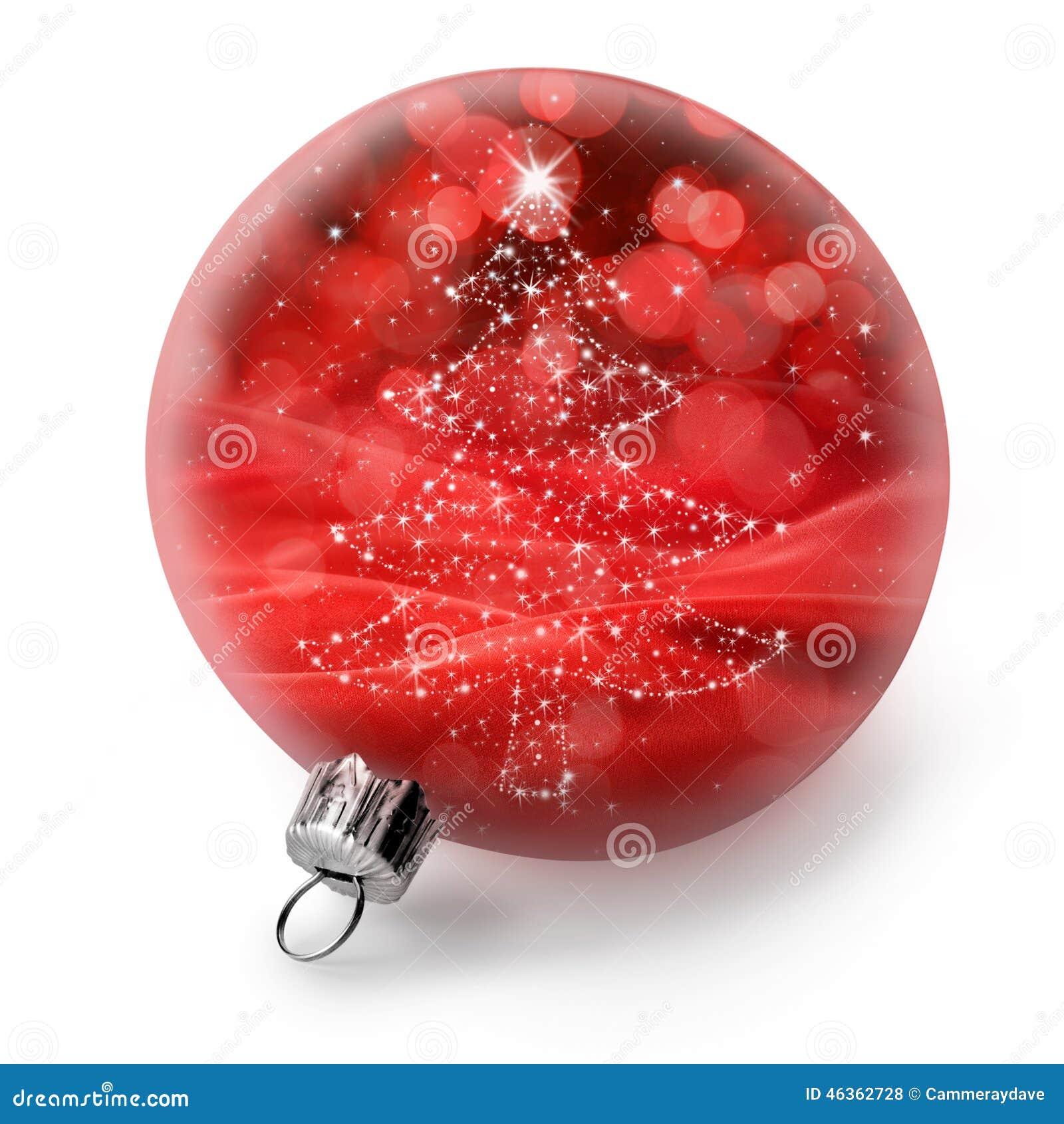 Odosobniony choinka ornament