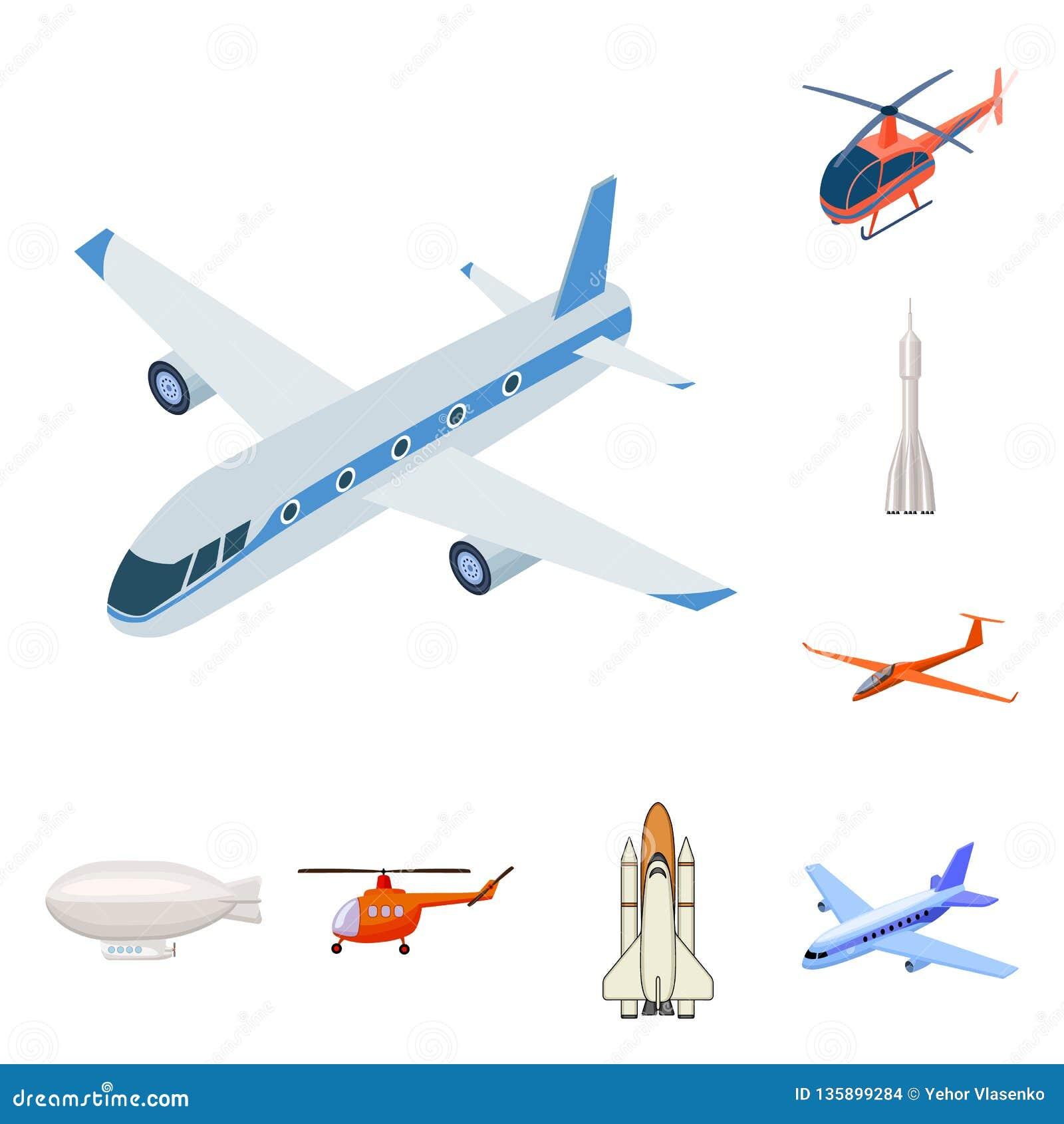 Odosobniony przedmiot transportu i przedmiota symbol Set transportu i szybownictwa akcyjny symbol dla sieci
