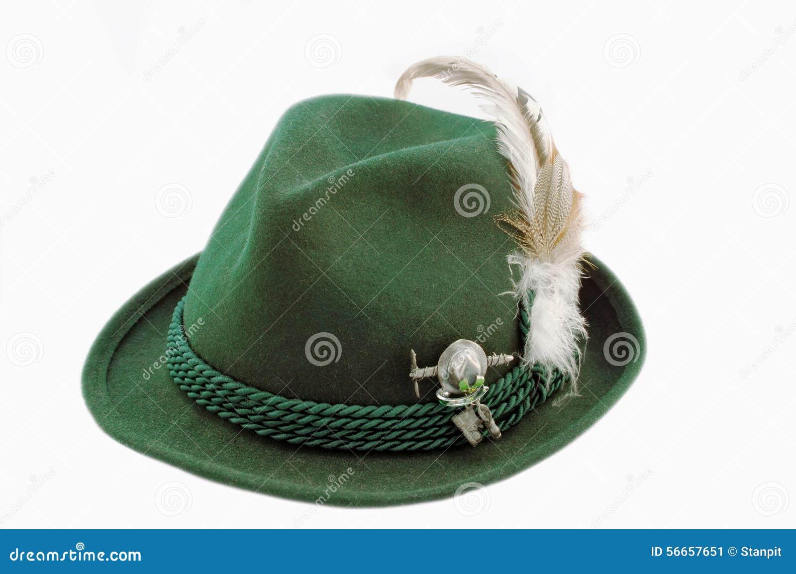Odosobniony Tirol kapelusz