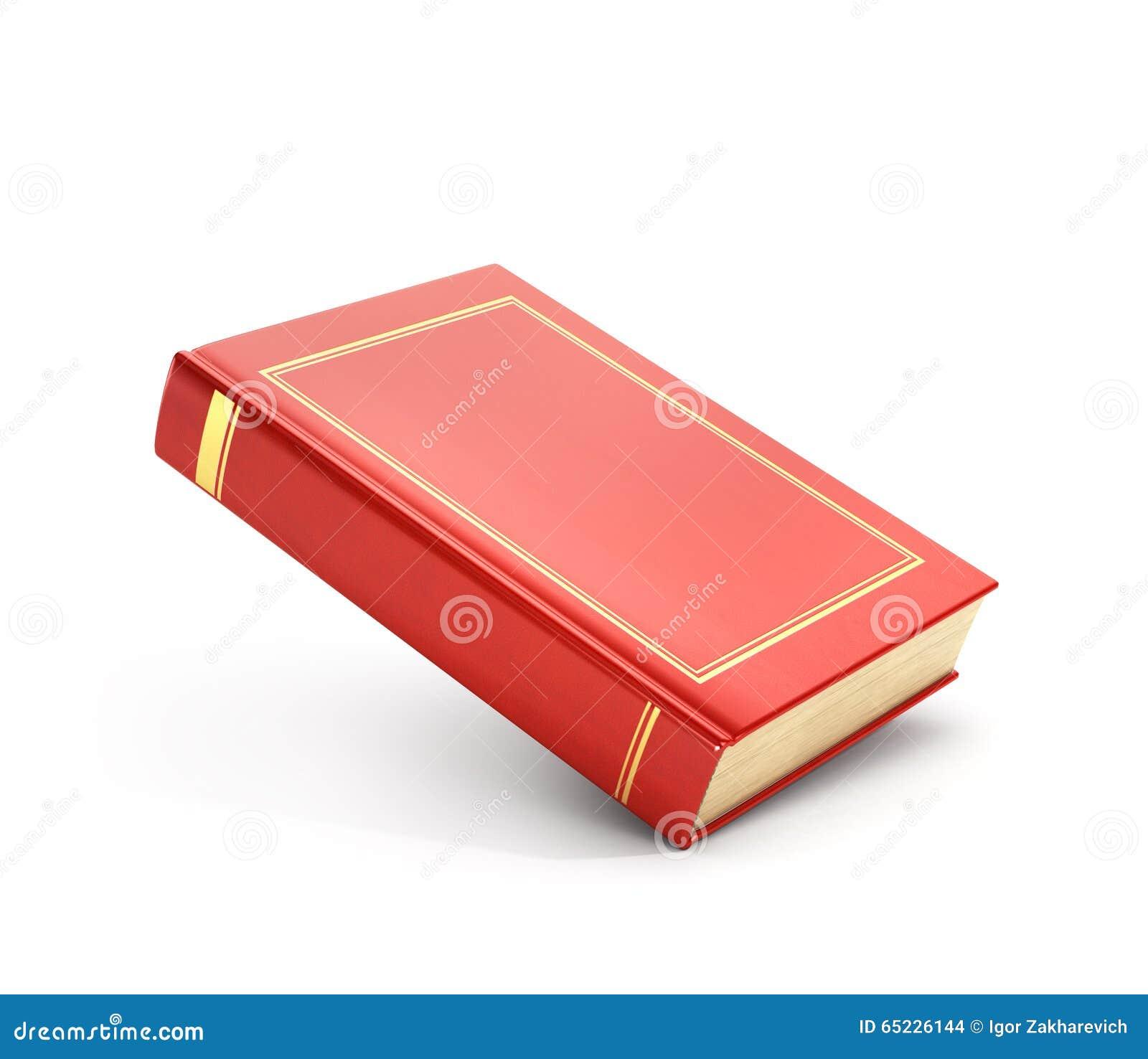 Odpłaca się czerwieni pusta książka